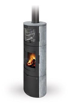 Каминная печь с духовкой ROMOTOP LUGO N 02 BF (камень)