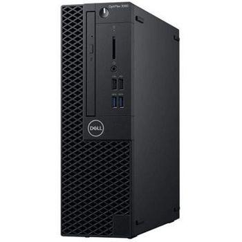 DELL OptiPlex 3060 SFF lntel® Core® i3-8100 (Quad Core, 3.60GHz, 6MB), 8GB DDR4 RAM, 256GB SSD, DVD-RW, lnteI® UHD630 Graphics, TPM, 200W PSU, USB mouse, USB KB216-B, Ubuntu, Black