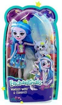Кукла Enchantimals Волчица Винсли с питомцем, код FRH40