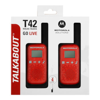 купить Рация Motorola Talkabout T42 Twin Pack, B4P00811 в Кишинёве