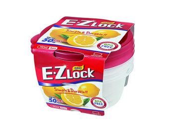 Набор емкостей пищевых EZ Lock 3шт, 0.19l, D10cm
