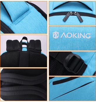 """купить Pюкзак Aoking FN67727 для ноутбука 15.6"""", водонепроницаемый, синий в Кишинёве"""