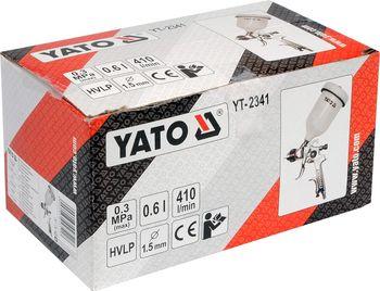 купить Краскопульт с баком 0,6 л YATO в Кишинёве