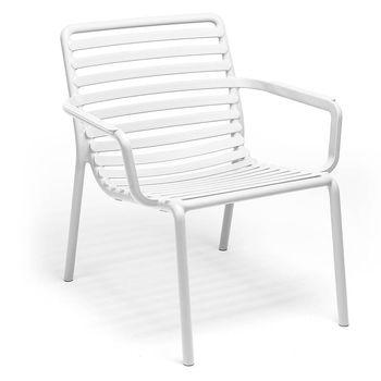 Лаунж Кресло Nardi DOGA RELAX BIANCO 40256.00.0000 (Лаунж Кресло для сада и террасы)