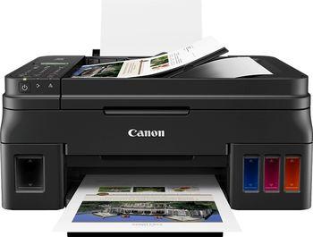 MFD Canon Pixma G4411 + Gift Kit III (GI-490BK + PP-201)