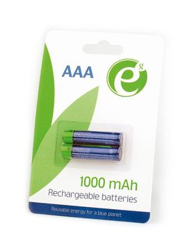 EnerGenie EG-BA-AAA10-01 Ni-MH rechargeable AAA batteries, 1000mAh, 2pcs blister pack