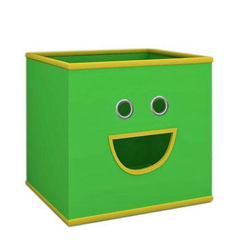 купить Текстильная коробка 280х280х280 мм, зелёный в Кишинёве
