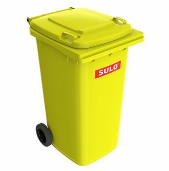 240L, Двухколёсный контейнер SULO, Желтый