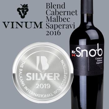 Cabernet-Malbec-Saperavi 2016, Mr.Snob