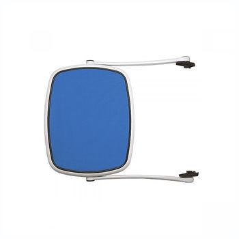 Козырек для шезлонга лежака Nardi PARASOLE (ALFA-OMEGA-EDEN-TROPICO) BIANCO blu 40418.00.112 (Козырек для шезлонга лежака Nardi Alfa / Eden / Omega / Tropico)