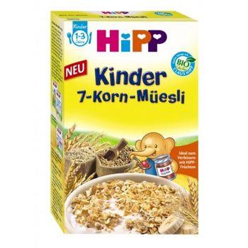 купить Hipp органические хлопья 7 злаков с бананом, 10+мес. 200г в Кишинёве
