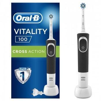 Электрическая зубная щетка Braun Vitality 100 Cross Action Black