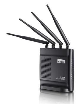купить NETIS WF2471 (4 LAN PORTS) Беспроводной двухдиапазонный маршрутизатор в Кишинёве