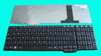 Keyboard Fujitsu Amilo Li3910 XA3530 Pi3625 Xi3670 XI3650 XA3520 ENG. Black