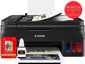 MFD Canon Pixma G4411 + Gift Kit I (GI-490BK + PP-201)