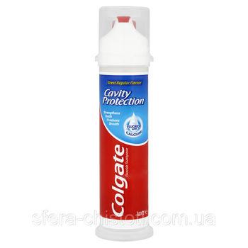 Зубная паста Colgate Cavity Protection с дозатором 100 мл
