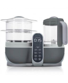 купить Многофункциональный кухонный комбайн 5 в 1 Babymoov Nutribaby+ Industrial Grey в Кишинёве