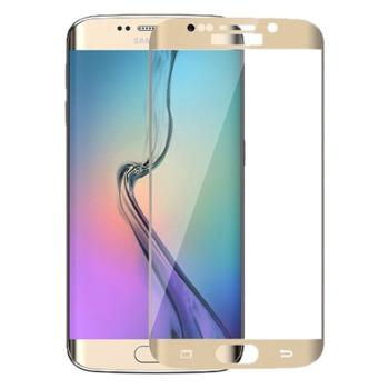 купить Защитное стекло Full Cover (3D)  Samsung Galaxy S7 EDGE, Gold в Кишинёве