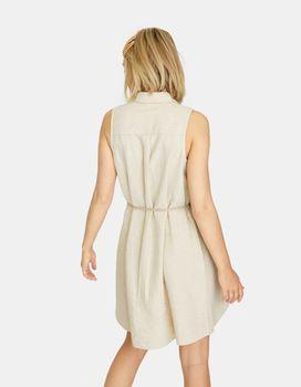 Платье Stradivarius Бежевый 6203/590/450