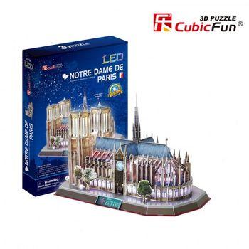 купить CubicFun пазл 3D Notre Dame de Paris в Кишинёве