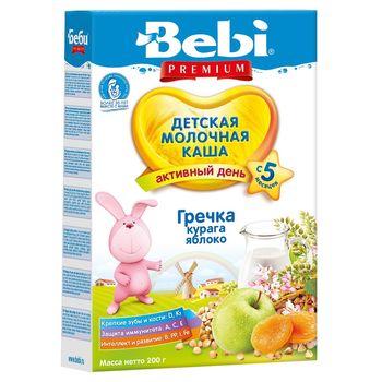 cumpără Bebi Prem Terci Lapte hrișcă, caise uscate, măr 200g în Chișinău