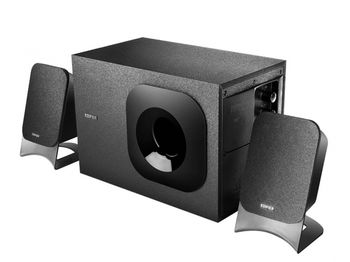 "Edifier M1370BT (Bluetooth)  Black,  2.1/ 34W (18W+ 2x8W) RMS, Input type: Bluetooth & 3.5mm line-in jack, sub. wooden, (sub.5"" + satl.2,75"")"