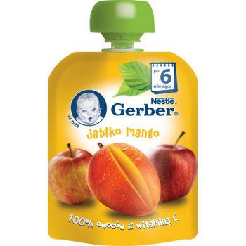 cumpără Gerber piure din mere și mango 6+ luni, 90 g în Chișinău