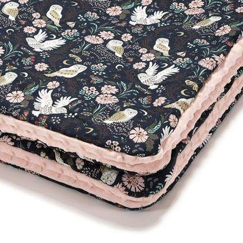 купить Одеялко La Millou Magic Owl / Powder Pink 100x80 см в Кишинёве