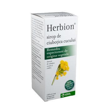 cumpără Herbion Sirop Ciubotica cucului 150ml în Chișinău