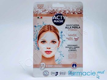 купить Acty Mask Cryo Masca Purifianta cu efect iluminator cu Praf natural de perla N1 (005054) в Кишинёве