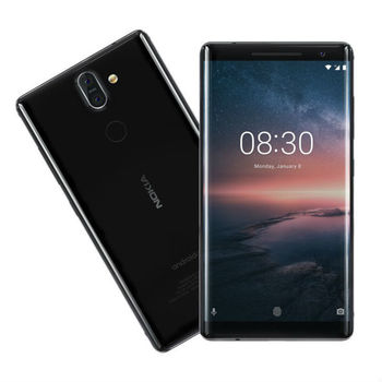 купить Nokia 8 Sirocco Single Sim, Black в Кишинёве