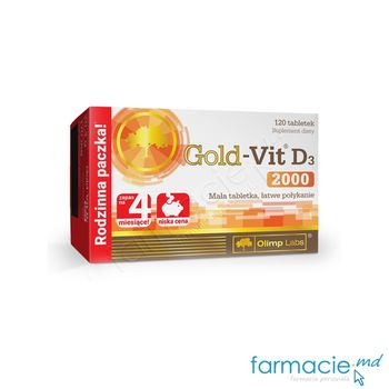 купить Vitamina D3 Gold 2000 UI comp N120 Olimp в Кишинёве