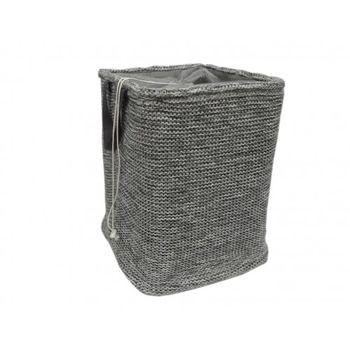 купить Корзина трикотаж со шнурком 400x400x550 мм, серый в Кишинёве