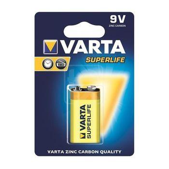 купить Батарейки Varta 9V Superlife 1 pcs/blist Zinc Carbon, 2022 101 411 в Кишинёве