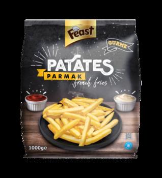 Картофель фри 10*10мм, 1 кг