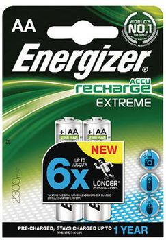 Energizer Rechargeable AA 2300mAh, FSB2 (blister)