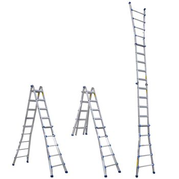 купить Шарнирная телескопическая лестница (4х5ст) FL56 в Кишинёве