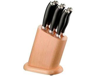 Набор 6 ножей Pinti Professional на деревянной подставке