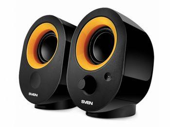 """купить Speakers  SVEN """"316"""" Black, 5w, USB в Кишинёве"""