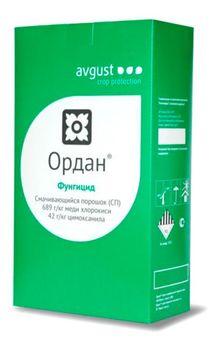 купить Ордан - фунгицид для защиты картофеля, томатов, огурцов, лука и винограда - Август в Кишинёве