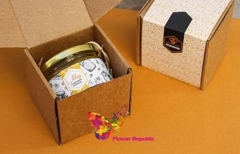 купить Подарочный мед с орешками в Кишинёве