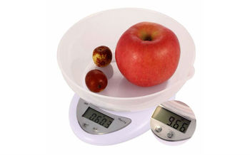 Весы кухонные с чашей (5кг) B05