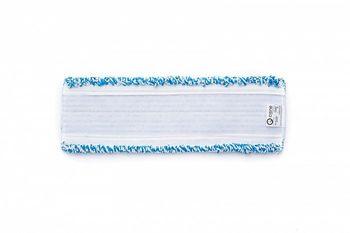 Velcro - Моп плоский микрофибра синий 40х13,5 см, липучки