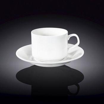 Чашка WILMAX WL-993112/AB (с блюдцем 215 мл)