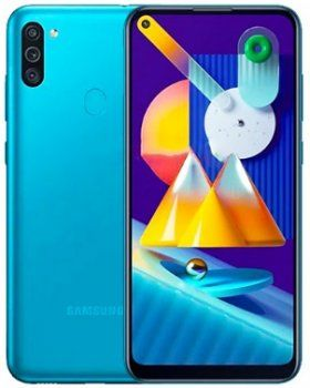 купить Samsung Galaxy M11 2020 4/64Gb Duos (SM-M115), Blue в Кишинёве