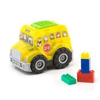 "Chipolino Конструктор ""Автобус"" (50 штук)"
