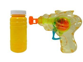 """Мыльные пузыри пистолет и наполнитель """"mini"""" 60ml"""