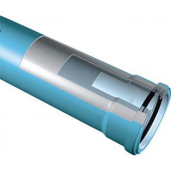 купить Труба ПП 3А   dn110 L=3.0m - 3.4mm  SiLENTA +GF+ HAKAN в Кишинёве