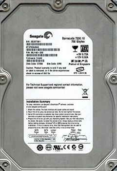 ".250GB HDD 250GB-SATA-16MB Seagate ""Barracuda 7200.10 ST3250410AS"" (7200rpm, 16MB, SATA II-300, NCQ)"