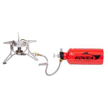 cumpără Arazator Kovea Booster Clam 2.10 kW, 376 (298+78) g, silver, KB-0810 în Chișinău